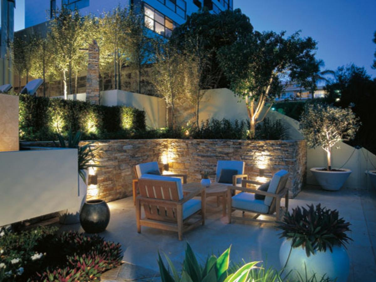 Садовые фонари в ландшафтном дизайне | ИнноваСтрой