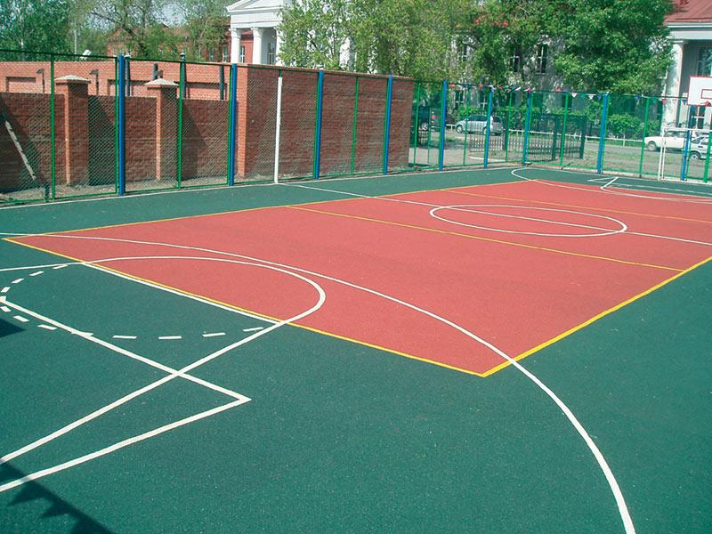 Покрытие для спортивных площадок на улице своими руками